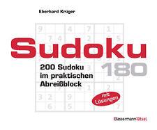 Eberhard Krüger - Sudoku Block. Bd.180