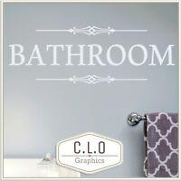 "LARGE CUT VINYL WALL ART STICKER FOR BATHROOM WALL SHOWER DOOR ETC 16/"" X 11.5/"""