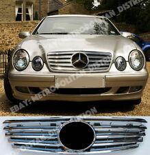 Mercedes E w211 Saloon/Estate,2002-06 Grill,Chrome+Central Star:AMG look:E55;E63