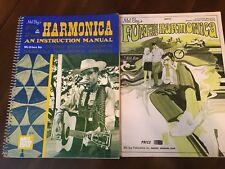 Harmonica Books: Mel Bay Fun w/Harmonica & Harmonica Instruction Manual-2 Books