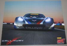 2018 Daniel Keilwitz Callaway Competition Corvette GT PWC postcard