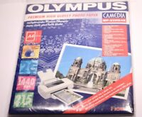 OLYMPUS PREMIUM HIGH GLOSSY PHOTO PAPER MP-20HG4E A4 20 SHEETS 1440 DPI 215 G/M
