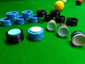 Taom professional grade chalk pool snooker with chalk holder
