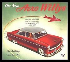 1952 Aero Willys Brochure- Aero Wing, Aero Ace 52