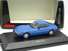 Schuco 1/43 - Opel GT J Bleue