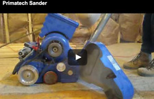 Hardwood floor sander (watch video) Belt sander, Used Primatech S800, 4 Hp, 220V