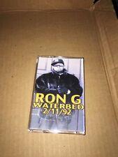 RARE DJ Ron G 2/11/92 90s HARLEM NYC CLASSIC Hip Hop Cassette Mixtape