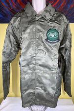 Mens Nike NFL On Field Salute to Service New York Jets Olive Camo Jacket Size XL