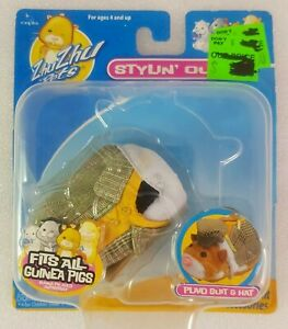 Guinea Pigs ZhuZhu Pets Stylin Outfit Plaid Suit and Hat 877799007387