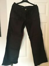 Ladies Linen Trousers Womens  bottoms  summer  UK Size 10