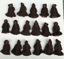 17 1977 Vintage Star Wars JAWA Action Figures Army Lot W Original Capes Cloaks