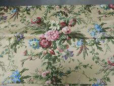 Vinrtage Ralph Lauren Adrianna King Pillowcases-Cotton Sateen- Florals & Greens
