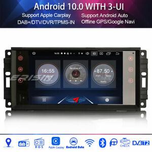 Android 10.0 DAB+Autoradio Jeep Patriot Compass Chrysler Aspen Dodge Challenger