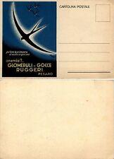 Glomeruli o gocce RUGGERI, Pesaro. Illustratore Mingozzi, formato grande