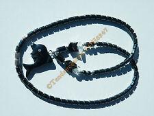 Collier Hématite pendentif Dauphin 3D + 1 Zircon Strass