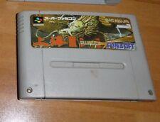 GAME/JEU SNES KONAMI SUPER NITENDO JAPANESE SHVC AS3J JPN SHANGAI III JAPAN