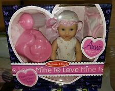 New Melissa & Doug Mine to Love Annie 12-Inch Drink Wet Poseable Baby Doll Real