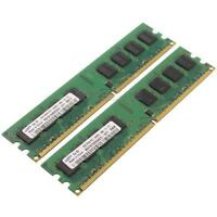 Samsung DDR2-RAM 4GB-Kit 2x2GB PC2-6400U 2R M378T5663QZ3-CF7