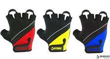 Cycling Gloves Padded Palm Half Finger/Fingerless MTB BMX Bicycle Biking Gloves