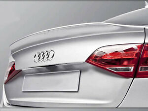 Audi A4 B8 Trunk Deck Lip Spoiler C Type Sedan Saloon 2008-2011