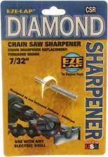 "EZE-LAP Diamond Threaded Shank Chain Saw Sharpener Grinding Stone 7/32""   CSR732"