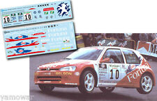 Decal 1:43 Roberto Solis - PEUGEOT 106 MAXI - Rally El Corte Ingles 2000