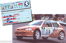 Decal 1:43 Roberto Solis - PEUGEOT 106 MAXI - Rally El Corte Ingles 2000