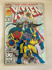 Uncanny X-Men #300 - Marvel -Signed by Brandon Peterson NM see scans!