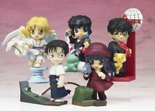 CLAMP IN 3-D LAND Figure set of 5 vol.4 3D Holic wish official anime authentic