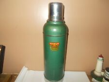 Vintage Stanley 'Super Vac' Green Vacuum Insulated Thermos 1959 Made in USA Nice