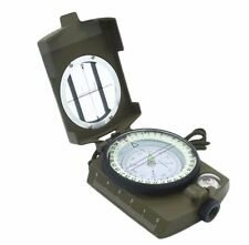 Metal Pocket Military Army Geology Compass for Outdoor Camping Hiking