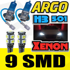 H3 XENON SUPERWEIß 100W Fernlicht 12V Scheinwerfer Glühbirnen HID Licht x 2