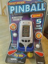 WESTMINSTER POCKET ARCADE ELECTRONIC HAND-HELD PINBALL GAME-NEW