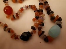 Single strand of Multi Gems Necklace. New with Tag.