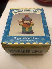 1996 Hallmark Happy Birthday Clowns 3rd In Series