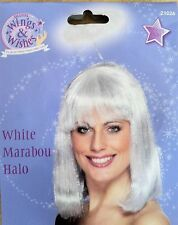 Smiffys Angel Marabou Halo - Black or White