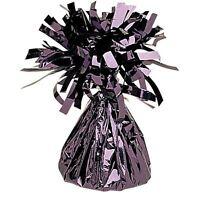 Black Foil Spray Weights Helium Birthday Party Decorations Wedding Anniversary
