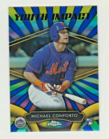 2016 Topps Chrome YOUTH IMPACT #YI-4 MICHAEL CONFORTO RC Rookie New York Mets