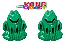 2 x KONG Puppy Dog Toy Teething Chew Snack Treat Dispenser Paste Biscuit Toy NEW