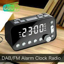 Radiowecker DAB Wecker Digital Alarmwecker Funk Uhr Schlummerfunktion Tischuhr