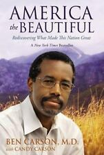 America The Beautiful: Ben Carson M.D. With Candy Carson Hardcover Buy2Get1Free