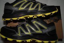 Salomon Men's Speedtrak-M Trail Runner Men's Size 8.5 D(M) Black/Yellow
