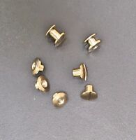BINDING SCREWS POSTS BRASS AND NICKEL PLATED VARIOUS SIZES CHICAGO BOOKBINDING