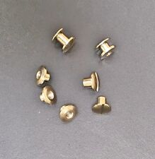 More details for binding screws posts brass and nickel plated various sizes chicago bookbinding
