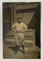 1919-21 FRED HOFMANN ORIGINAL TYPE 1 PHOTO NEW YORK YANKEES OLD BALLPARK IMAGE