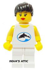 Lego Licht Delphin Mädchen weibliche Minifigur NEU