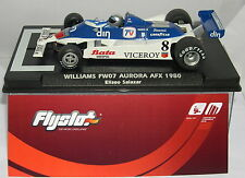 FLY FLYSLOT 055303SLOT CAR WILLIAMS FW07 #8 AURORA AFX 1980 HO ELISEO SALAZAR MB