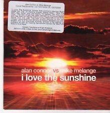 (CG170) Alan Connor vs Mike Melange, I Love The Sunshine - 2009 DJ CD