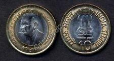INDIA 10 Rupees 2009 bimetallic Homi Bhabha UNC