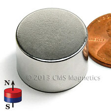 "Neodymium Magnets Discs N42 Dia 3/4""x1/2"" Strong NdFeB Rare Earth Magnet Lot 5"